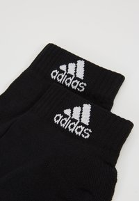 adidas Performance - CUSH ANK 3 PACK - Sports socks - black - 2