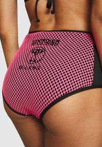 MOSCHINO SWIM - CULOTTE - Bikini bottoms - fuchsia - 4