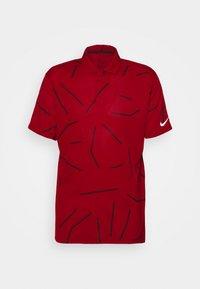 Nike Golf - TIGER WOODS DRY COURSE  - Funkční triko - gym red/black - 0