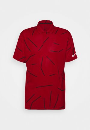 TIGER WOODS DRY COURSE  - Koszulka sportowa - gym red/black