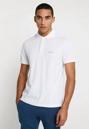 REFINED LOGO BADGE - Poloshirts - perfect white