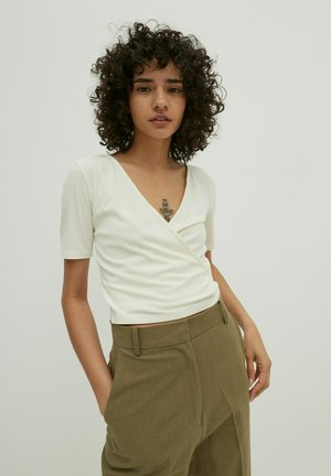 LEIA - Print T-shirt - weiß