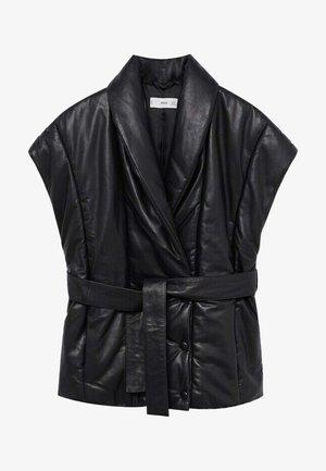 PEPE-I - Waistcoat - noir