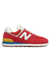 New Balance - 574 - Trainers - team red - 3
