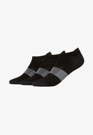LYTE 3 PACK UNISEX - Sports socks - performance black