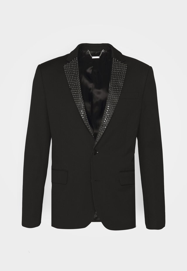 JACKET GREYLOK - Veste de costume - black