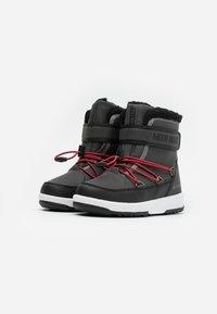 Moon Boot - BOY WP - Zimní obuv - black /castlerock - 1