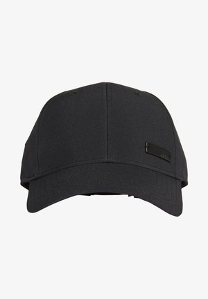 LIGHTWEIGHT METAL BADGE BASEBALL CAP - Gorra - black