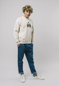 Brava Fabrics - 4WHEELS  - Sweatshirt - grey - 1