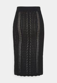 Pinko - BIGLIARDO - Pencil skirt - black
