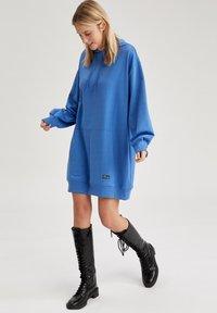 DeFacto - Day dress - blue - 3