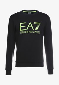 EA7 Emporio Armani - Sweatshirt - black / neon / yellow - 4