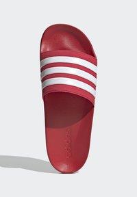 adidas Performance - SHOWER ADILETTE - Chanclas de baño - red - 1