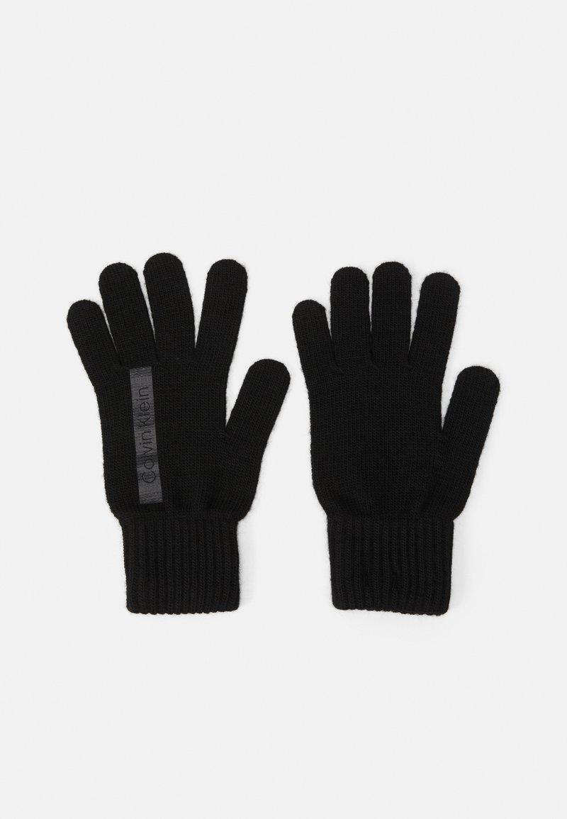 Calvin Klein - GLOVES - Gloves - black