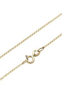 Elli - PLÄTTCHEN - Necklace - gold-coloured - 4