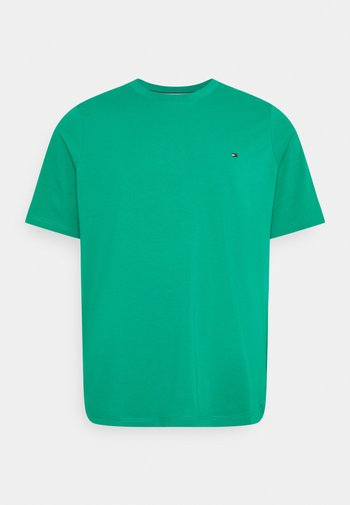 STRETCH SLIM FIT TEE - Basic T-shirt - courtside green