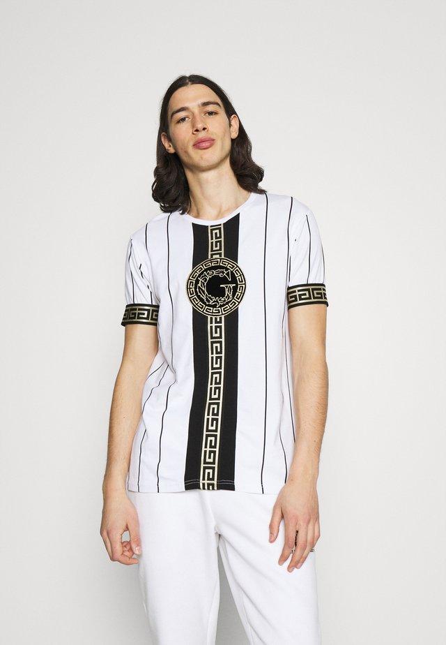 SANTAGO TEE - T-shirt con stampa - optic white