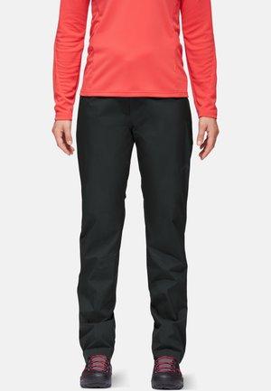 ALBULA HS - Trousers - black