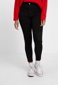 Topshop Petite - JONI - Jeans Skinny Fit - pure black - 0