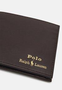 Polo Ralph Lauren - SMOOTH UNISEX - Lompakko - brown - 4