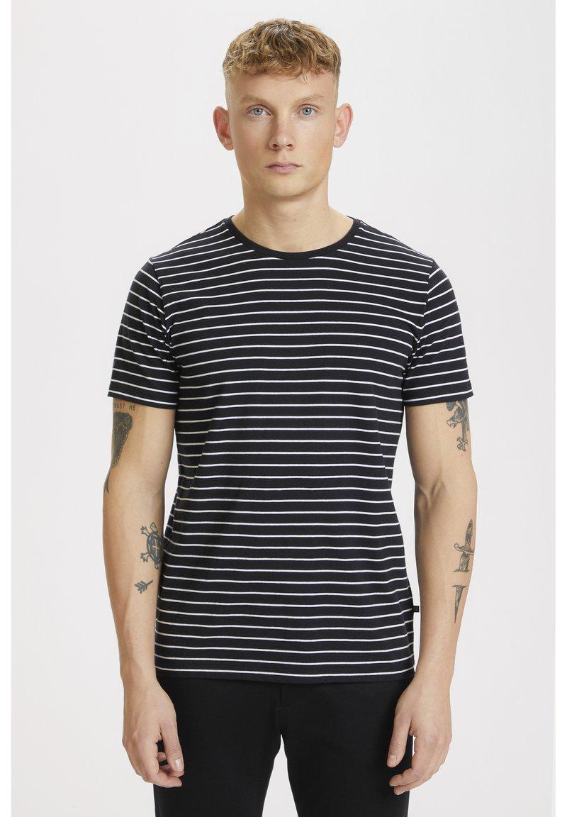 Matinique - JERMANE SAILOR - Print T-shirt - black
