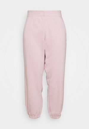 PANT TREND PLUS - Tracksuit bottoms - champagne/white
