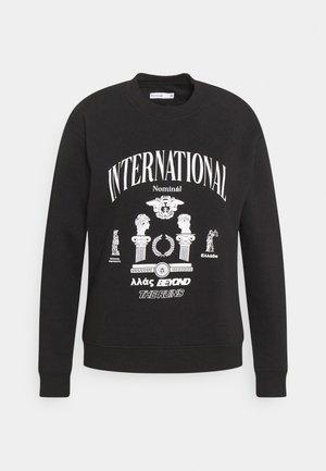 INTERNATIONAL CREW - Sweatshirt - black