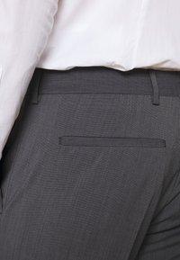 Tommy Hilfiger Tailored - SLIM FIT PEAK LAPEL SUIT - Oblek - grey - 8