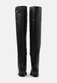 ASRA - KYLA - Over-the-knee boots - black - 3