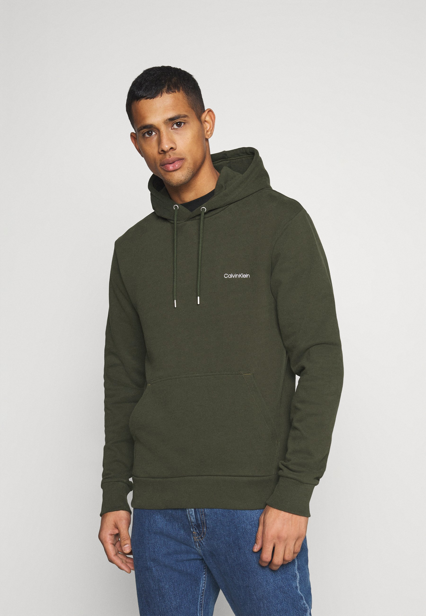 Homme LOGO EMBROIDERY HOODIE - Sweat à capuche