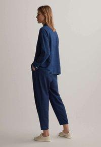 OYSHO - Trousers - blue - 2