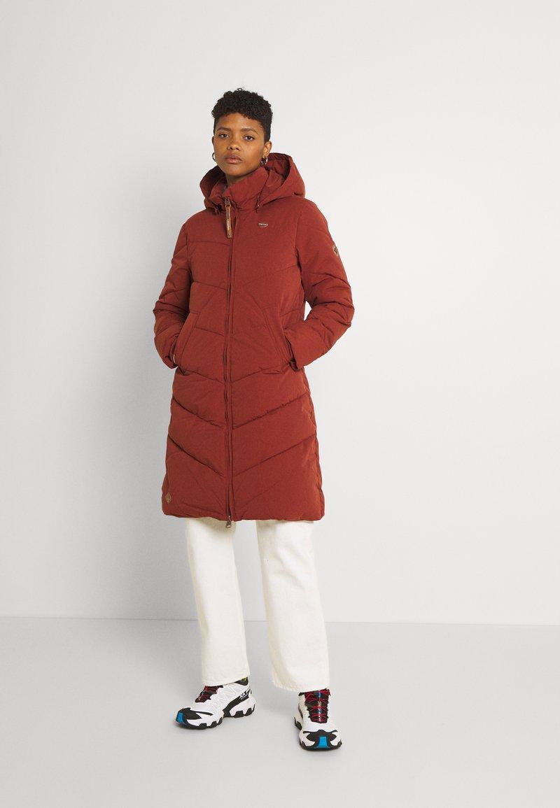 Ragwear - REBELKA - Classic coat - terracotta