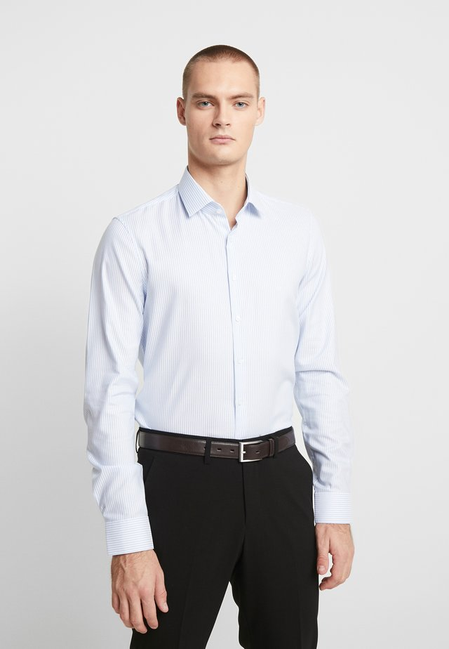 STRIPE EASY IRON SLIM - Formal shirt - blue
