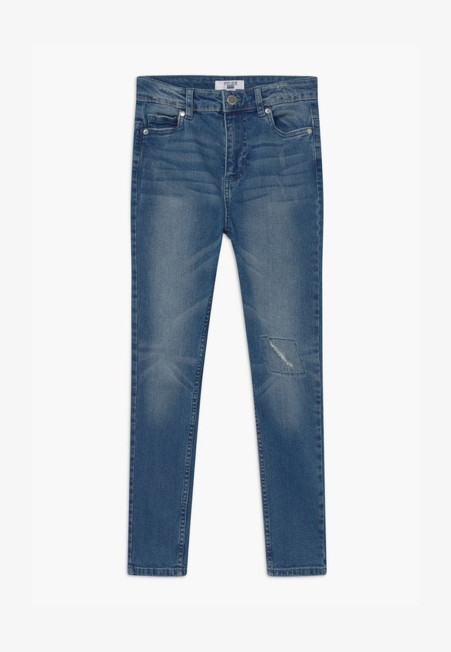 Slim fit jeans - mid denim