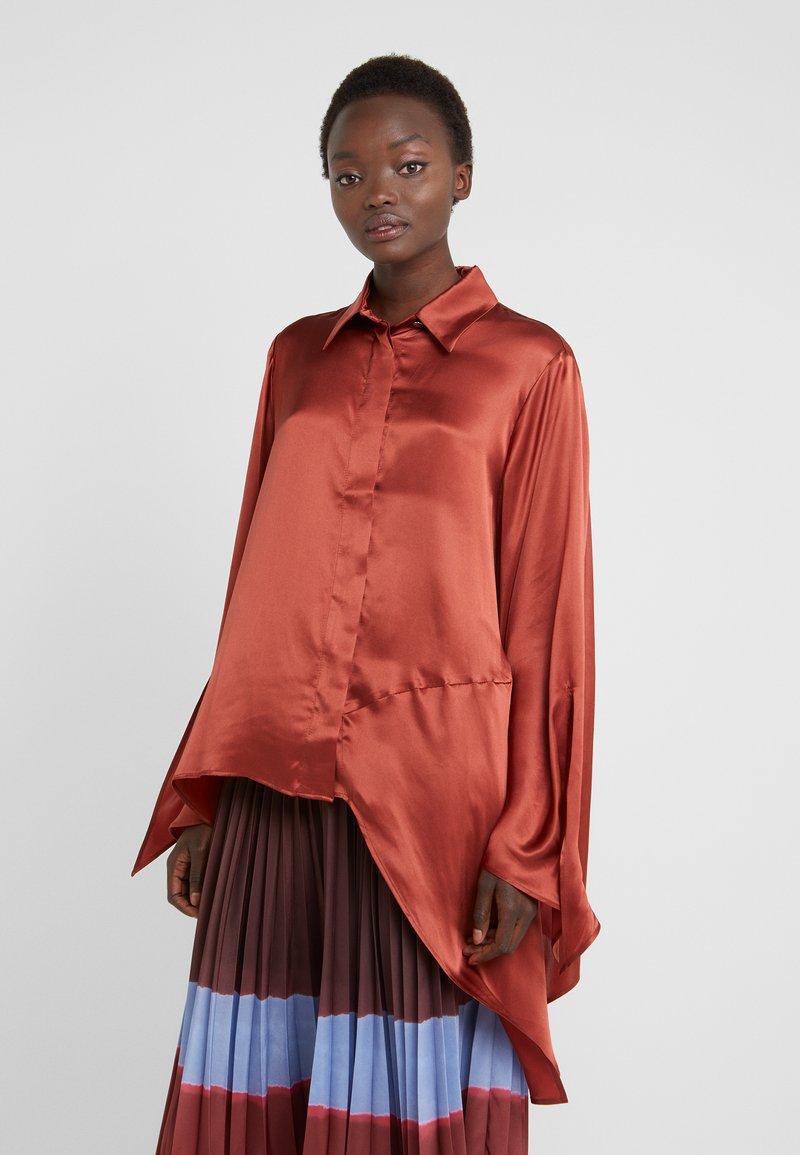 Mykke Hofmann - LINKA - Button-down blouse - copper