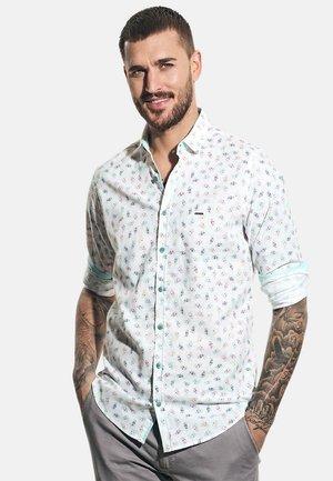 MIT INDIVIDUELLEM DRUCK - Shirt - weiß