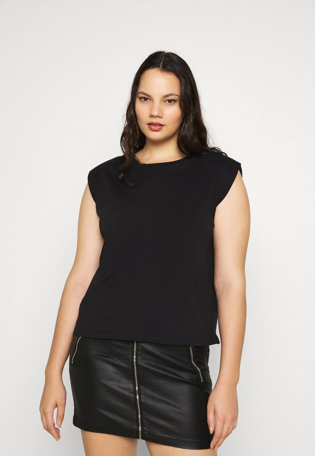 PCLIZ - Basic T-shirt - black