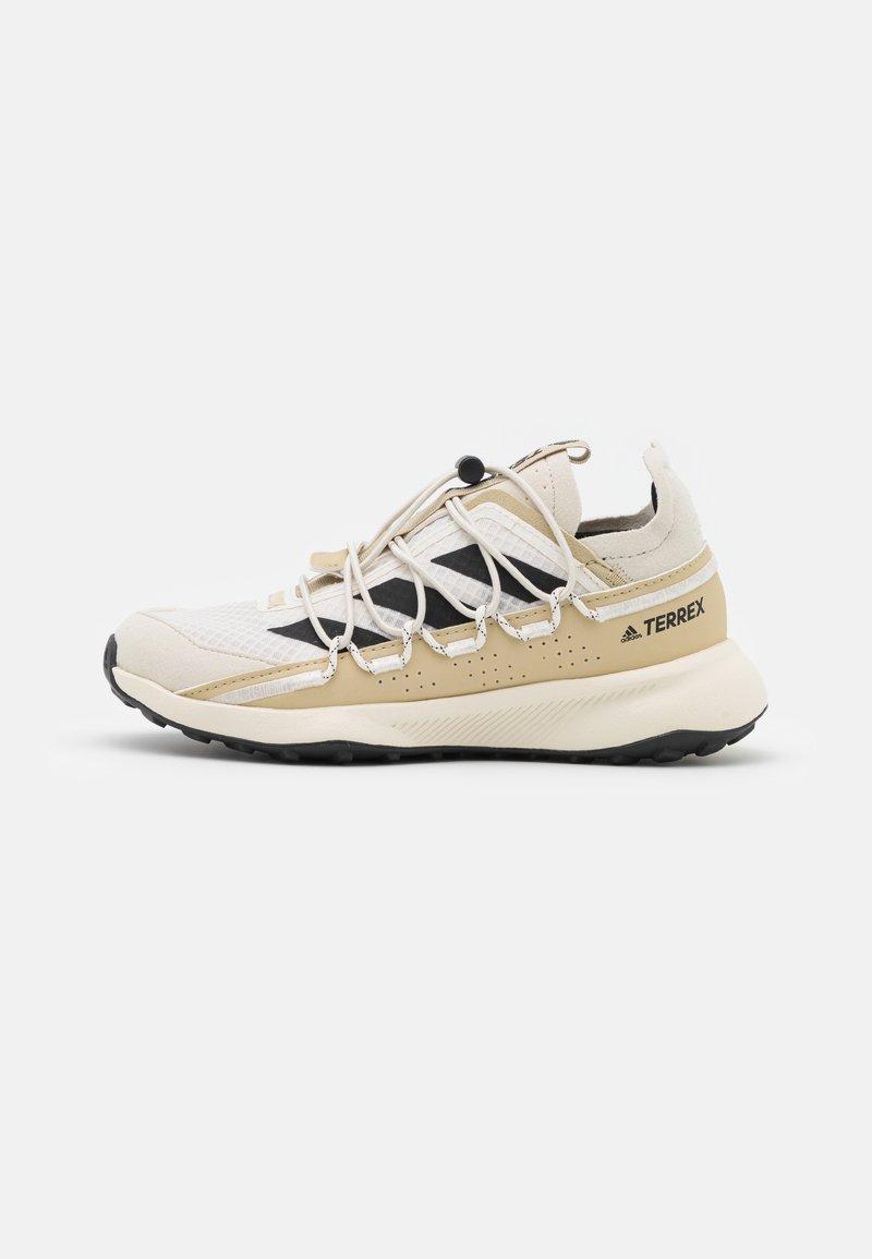 adidas Performance - TERREX VOYAGER 21 H.RDY  - Hiking shoes - chalk white/core black/alumina