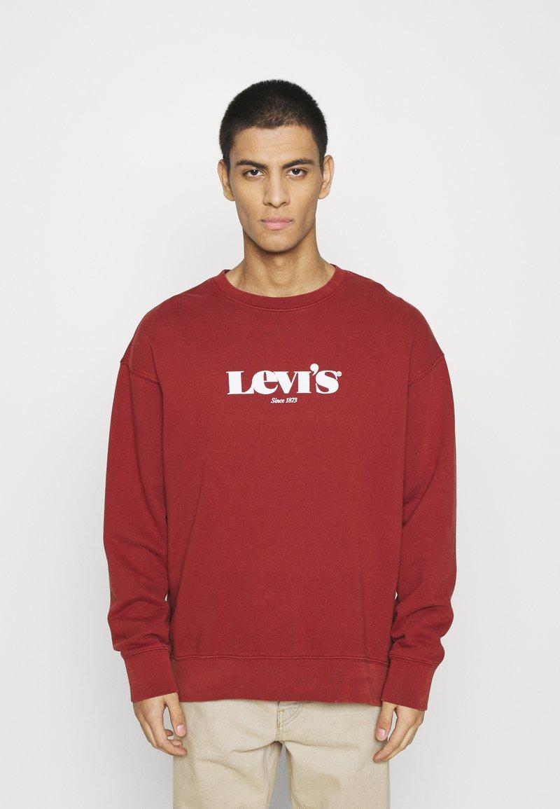 Levi's® - PRIDE RELAXED GRAPHIC CREW UNISEX - Sweatshirt - blacks