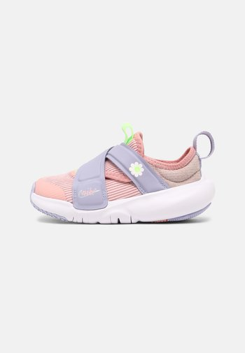 FLEX ADVANCE UNISEX - Trainers - pink glaze/white/purple dawn/lime glow