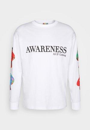 PARANORMAL LONG TEE UNISEX - T-shirt à manches longues - white