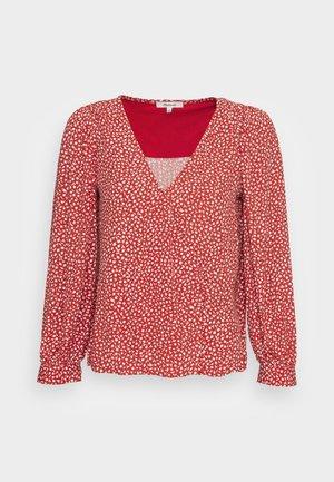 LUISA  - Blouse - kilt red