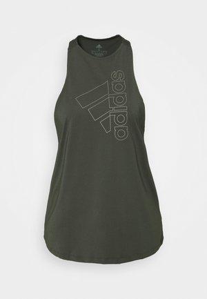 TECH BOS TANK - Koszulka sportowa - legear/leggreenn
