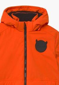 SuperRebel - SUSTAINABLE PLAIN UNISEX - Snowboard jacket - neon orange - 4
