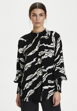 ZOHAGZ  - Button-down blouse - black scratch
