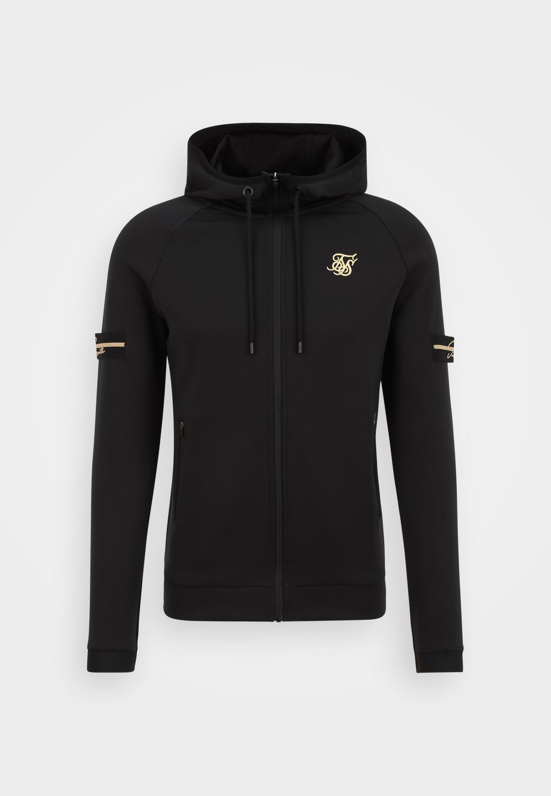 Men EXPOSED TAPE ZIP THROUGH  - Zip-up sweatshirt