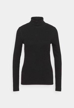 MAGGIE ROLL NECK - Maglietta a manica lunga - black