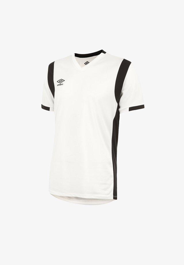 Sports shirt - weissschwarz