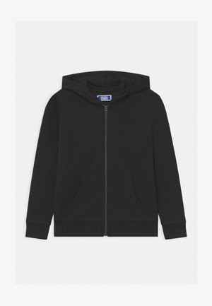 JJEBASIC ZIP HOOD  - veste en sweat zippée - black