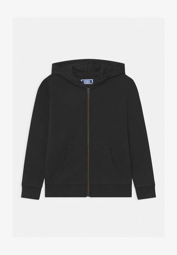JJEBASIC ZIP HOOD  - Zip-up sweatshirt - black